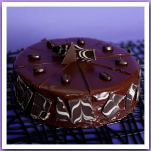 Торт «Чёрная карта»