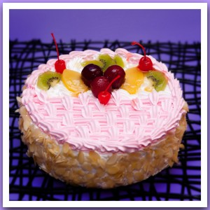 Торт «Фруктовая корзинка»