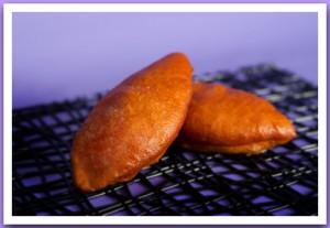 Пирожок с начинкой (капуста, картошка) жареный