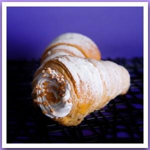 Пирожное «Трубочка с кремом»