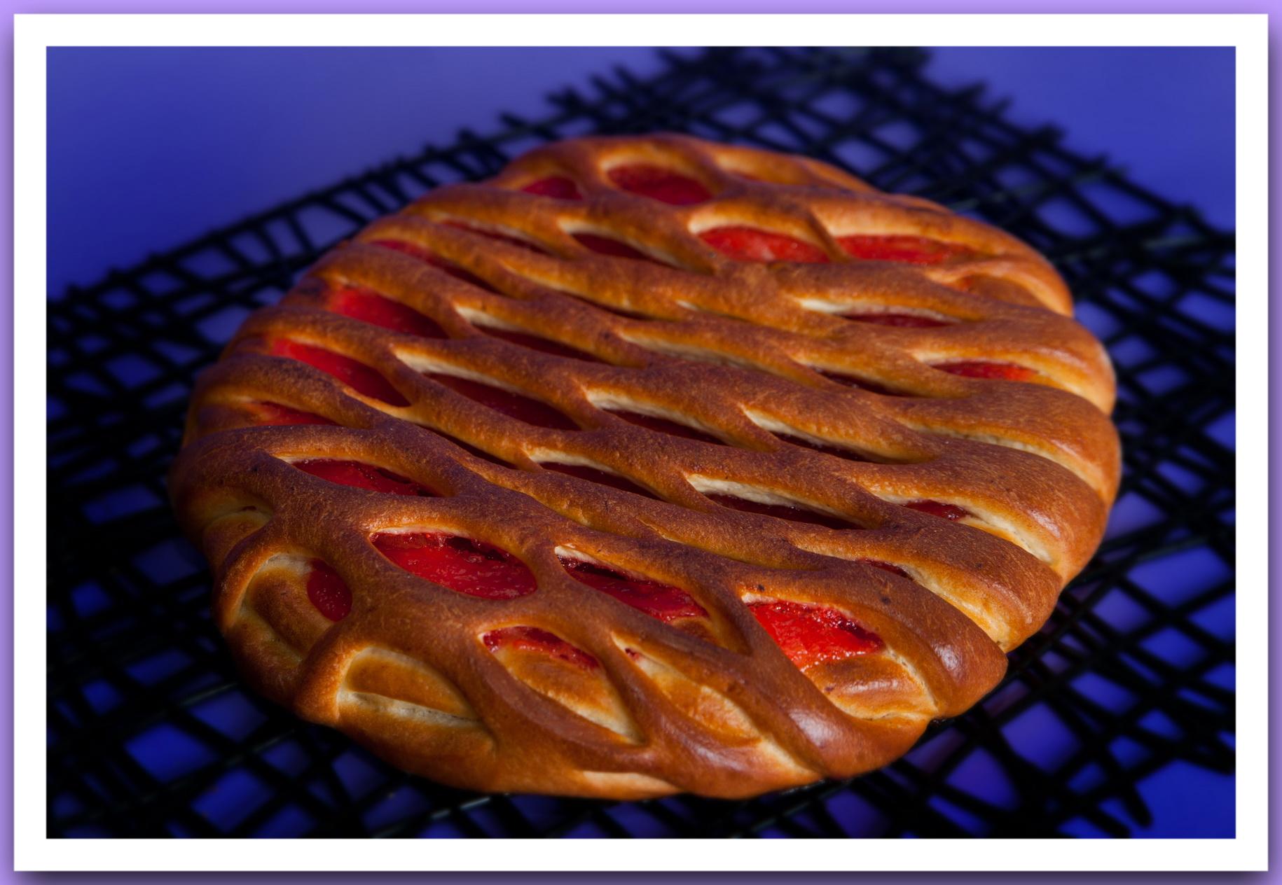 Пирог с вареньем самый простой рецепт пошагово