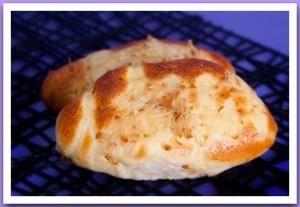 Пирожок печёный с сыром